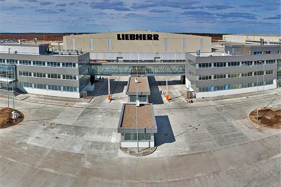 Завод «Liebherr» (Российская Федерация / Нижний новгород ) 2014