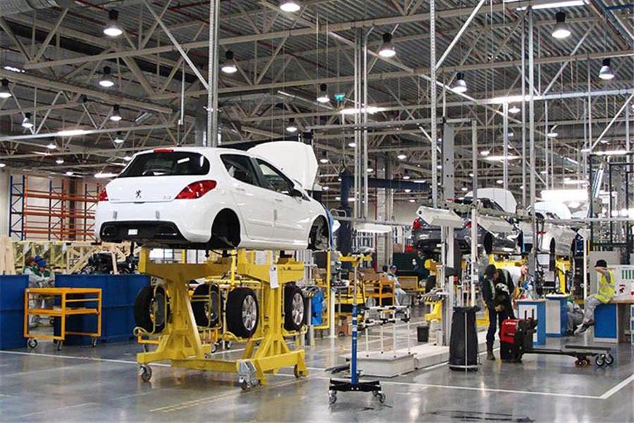 Araç Fabrikası «Pego-Citroen» (Rusya Federasyonu / Kaluga ) 2014