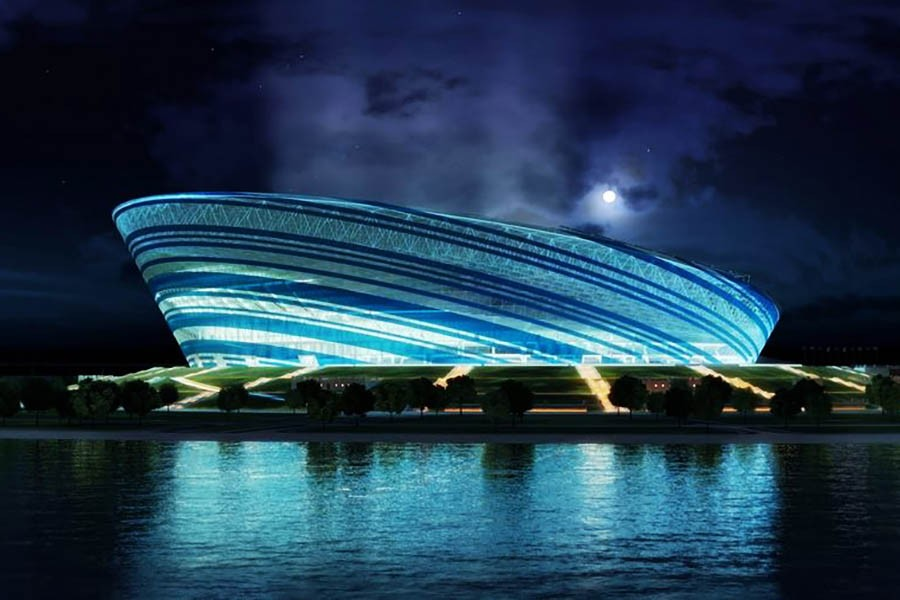 Football Stadium «FC Zenit» (Russian Federation / Saint petersburg) 2014.