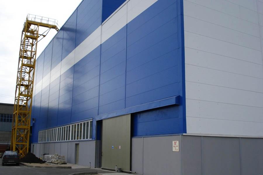 Demir Çelik Fabrikası Asitleme Binası «NLMK» (Rusya Federasyonu /Lipetsk)