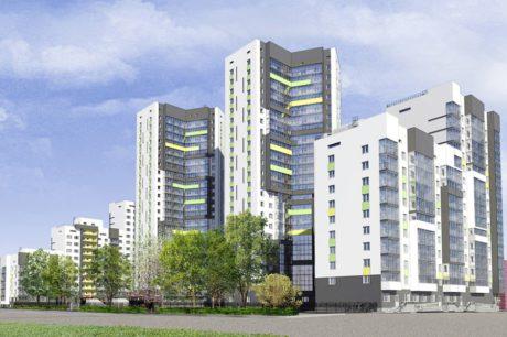 Yaşam kompleksi 1.etap (Rusya Federasyonu / Novosibirsk) 2014 - 2015