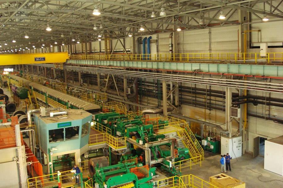 Здание травильного цеха металлургического комбината (нлмк) (Липецк)