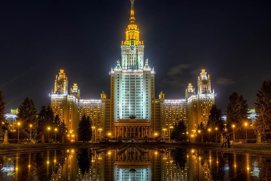 Здание Московского Государственного Университета «МГУ» (Москва) 2005-2006
