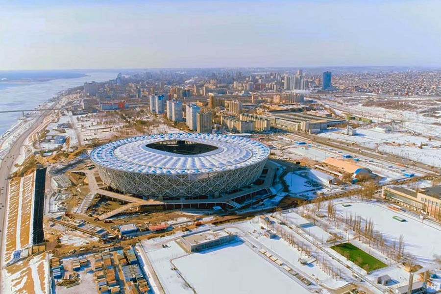 ВОЛГОГРАД АРЕНА СТАДИОН (Российская Федерация / Волгоград) 2018