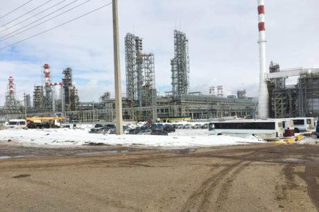 «Petrol Rafineri ve Petrokimya Tesisleri Kompleksi» (Tataristan / nijniy kamsk)