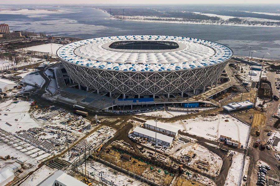 Volgograd Arena Stadyumu (Rusya Federasyonu / Volgograd)