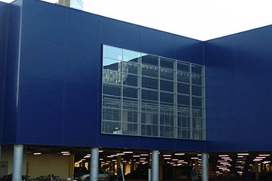 Alışveriş ve eğlence merkezi «MEGA -IKEA» ( Nijniy Novgorod )
