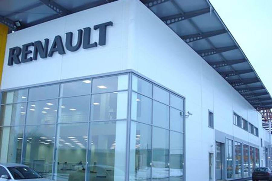 Vehicle sales and service center «Avtomir - Renault»