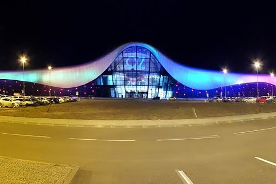 Alışveriş ve eğlence merkezi «Oz-aim» (Rusya Federasyonu / Krasnodar)