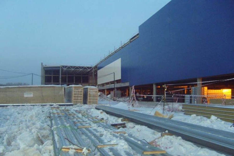 Shopping Center «MEGA -IKEA» (Russian Federation / Novosibirsk)