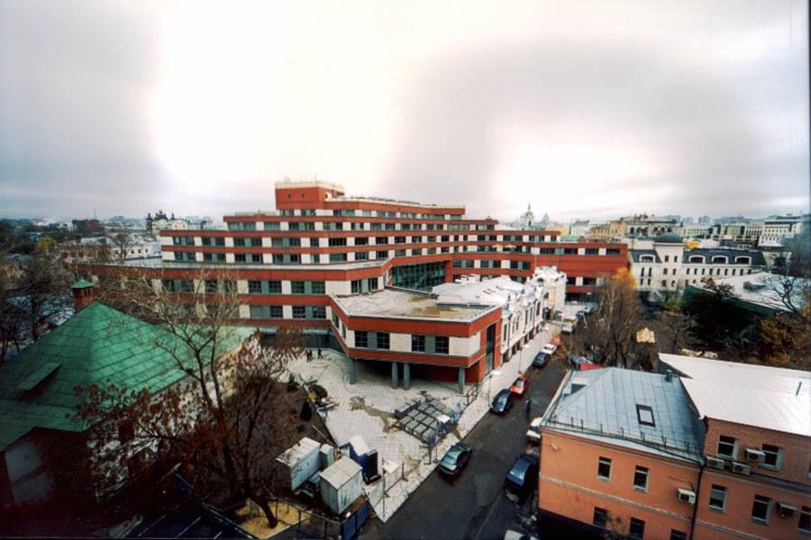 Alış veriş ve İş Merkezi Binası «ARKADIA» (Rusya Federasyonu / Moskova)